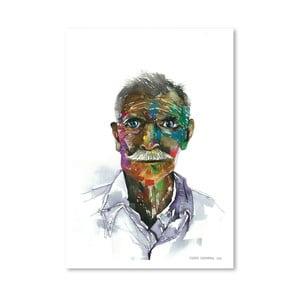 Plagát Rainbow Man, 30x42 cm