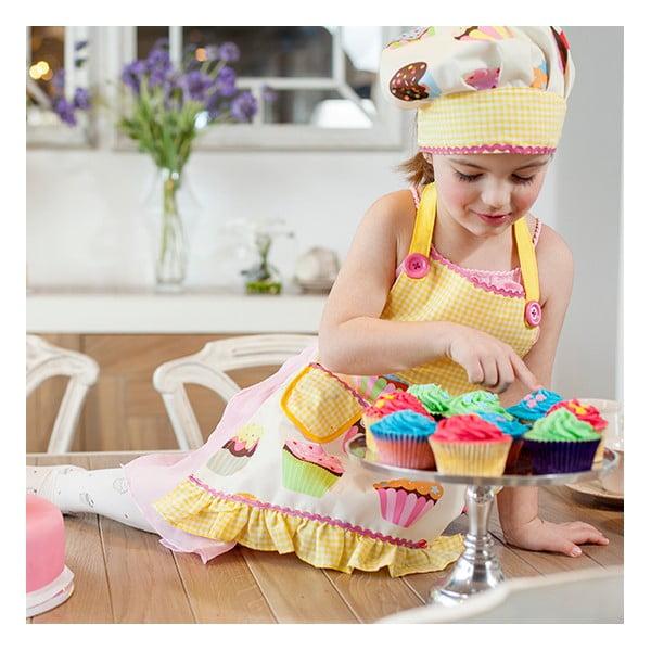 Detská kuchynská zástera s čepcom Vigar Yellow