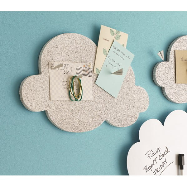 Nástenka v tvare mraku Design Ideas Cloud, korková