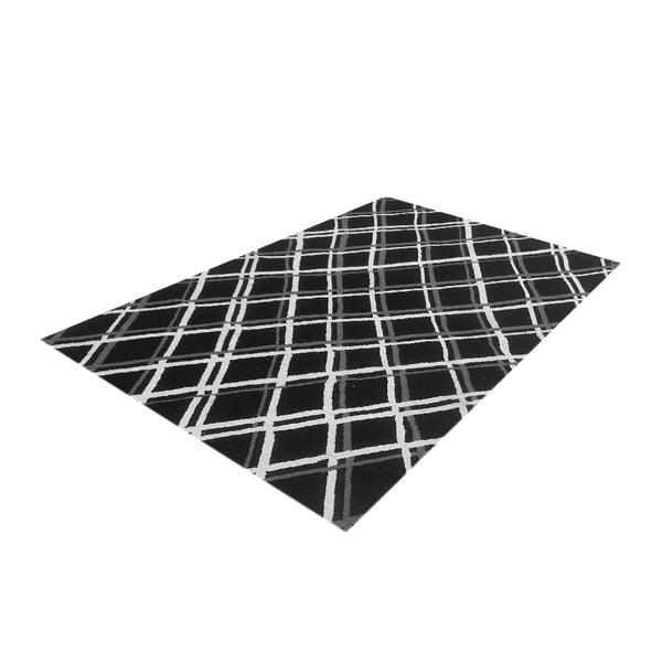 Vlnený koberec Kilim Check, 165x230 cm