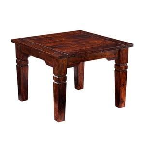 Konferenčný stolík z dreva Sheesham Knuds India, 70 x 70 cm