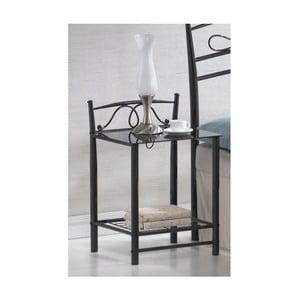 Nočný stolík Antik Black