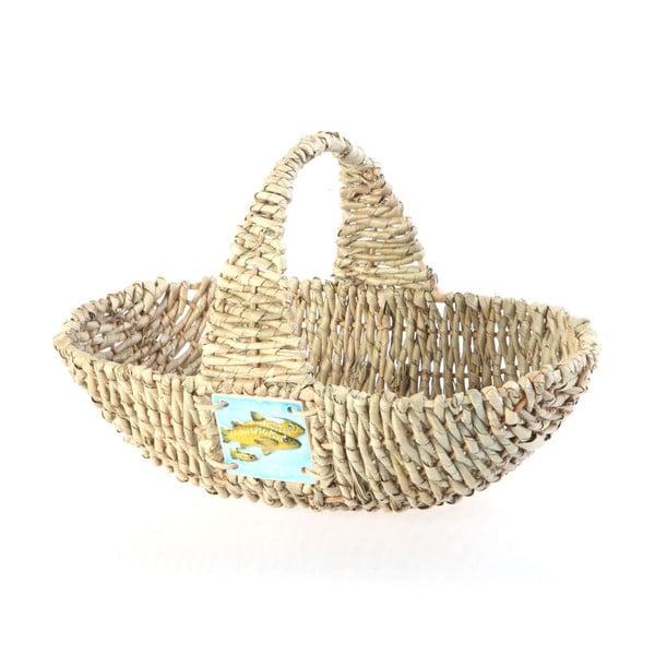 Prútený košík Wicker Basket, 37 cm
