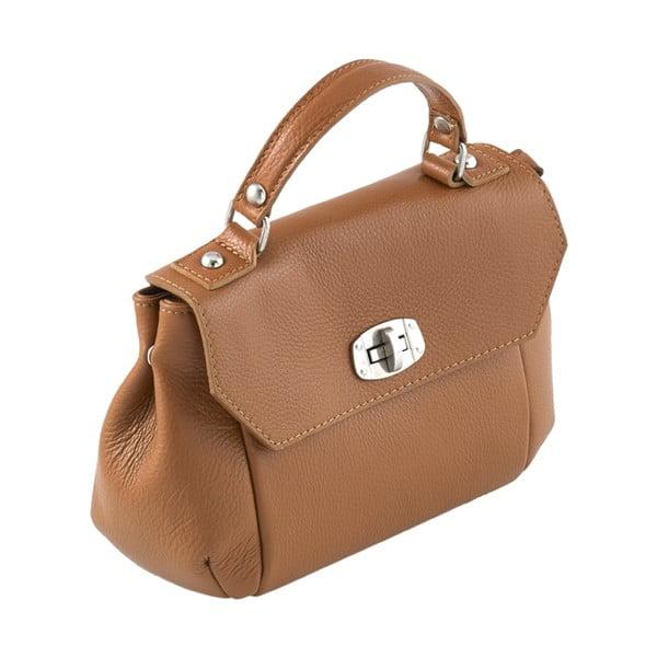 Kožená kabelka Andrea Cardone 2021 Brown