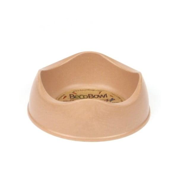 Miska pre psíkov/mačky Beco Bowl 12 cm, hnedá