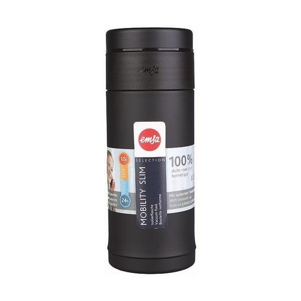Termo fľaša Mobilitiy Slim Black, 320 ml