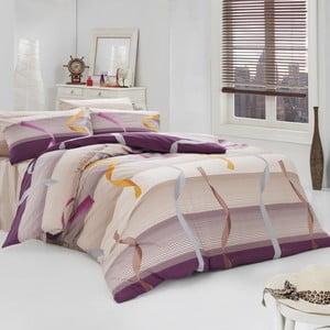Bavlnené obliečky s plachtou Ribbon, 200 x 220 cm