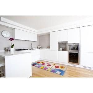 Vysokoodolný kuchynský koberec Spring, 60x110 cm
