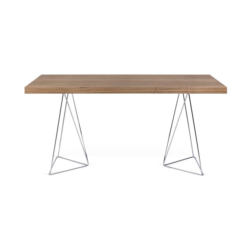 Hnedý stôl TemaHome Multi, dĺžka 1160 cm