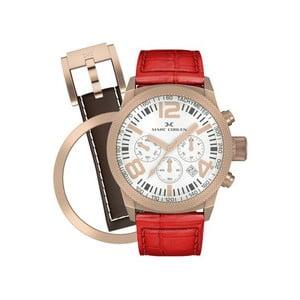 Dámske hodinky Marc Coblen s remienkom a krúžkom na ciferník naviac P31