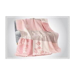 Bavlnená deka Aksu Rene, 200×150 cm