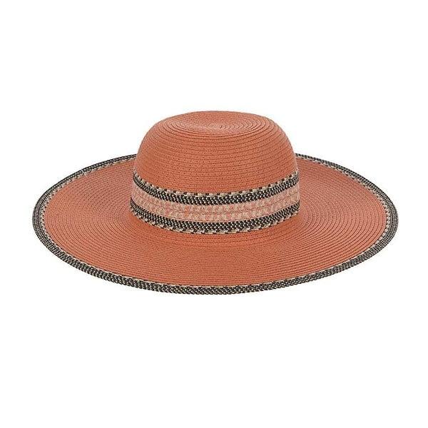 Slamený klobúk Orange