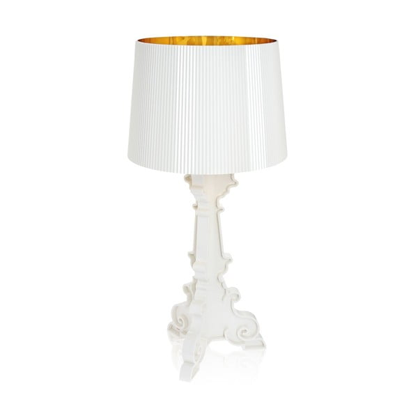 Lampa Bourgie, biela