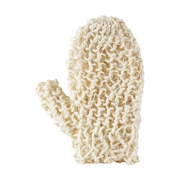 Krémová masážna rukavica do kúpeľa z konope Galzone