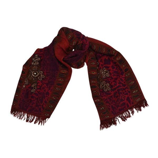 Vlnená šatka Shirin Sehan - Dana Fiesta