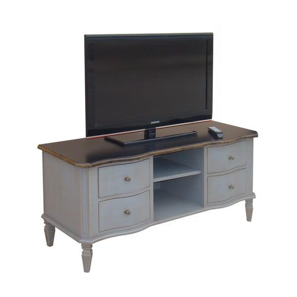 Televízna komoda so 4 zásuvkami Belgique Grey