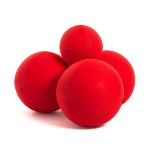 Sedacia súprava Ball Modular Fiery Red