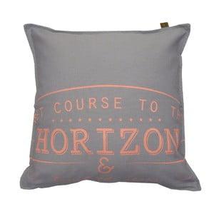 Svetlosivý vankúš OVERSEAS Horizon, 45x45cm