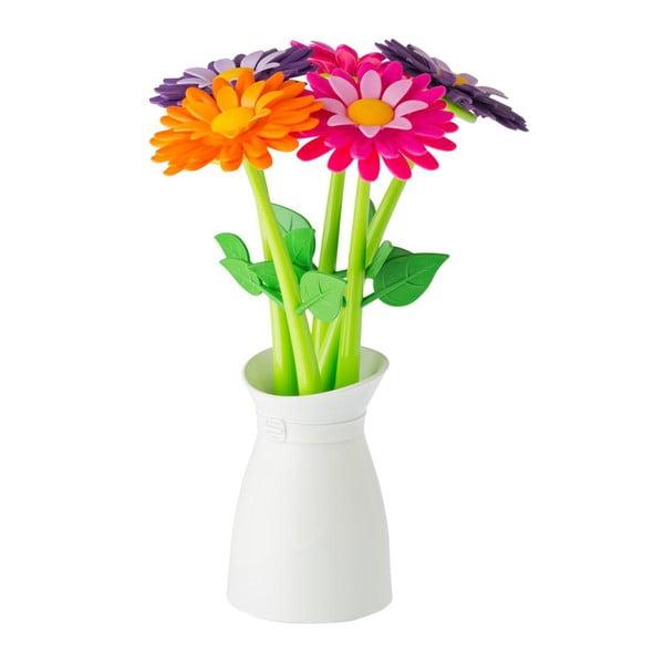 Sada 5 pier so stojanom Vigar Floral