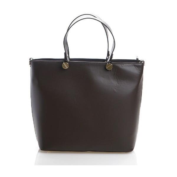 Kožená kabelka Viviana, hnedá