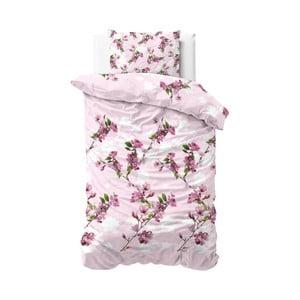 Obliečky Sleeptime Flower Blush, 140×220 cm