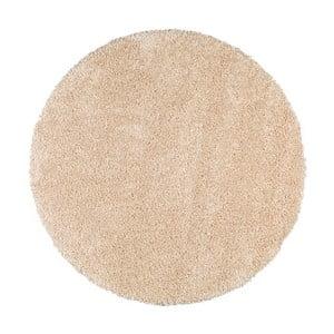 Biely guľatý koberec Universal Aqua, ø80cm