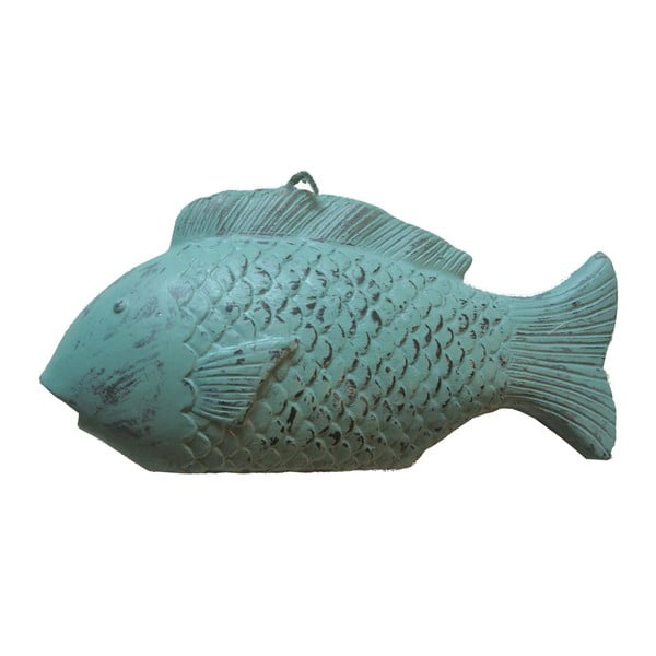 Zelená sviečka v tvare ryby Ego Dekor