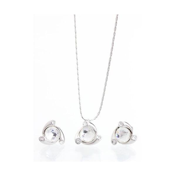 Set náhrdelníka a náušníc Swarovski Elements Eidselva