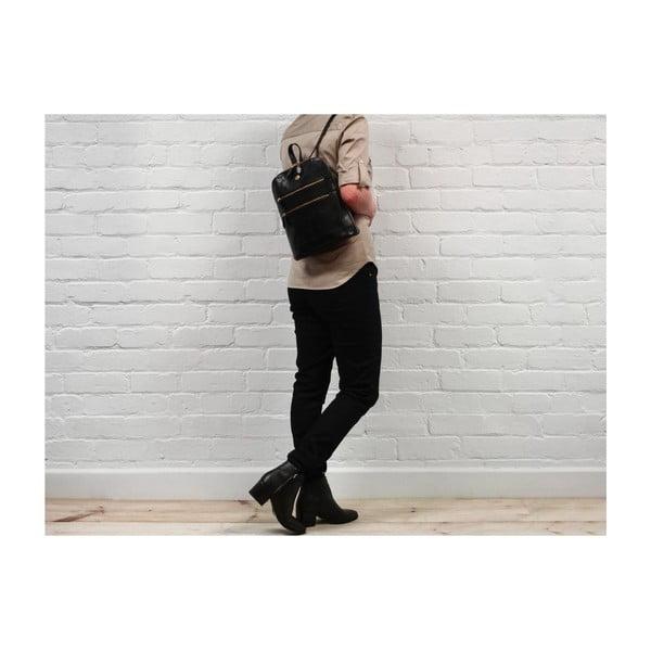Kožený batoh Florence Black