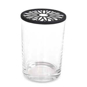 Sklenená váza s vrchnákom Interiörhuset Daisy, ⌀10cm