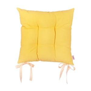 Žltý podsedák Apolena Simply Yellow, 41×41cm