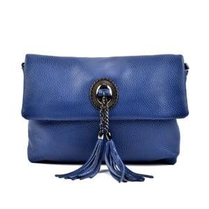 Modrá kožená kabelka Roberta M Musso