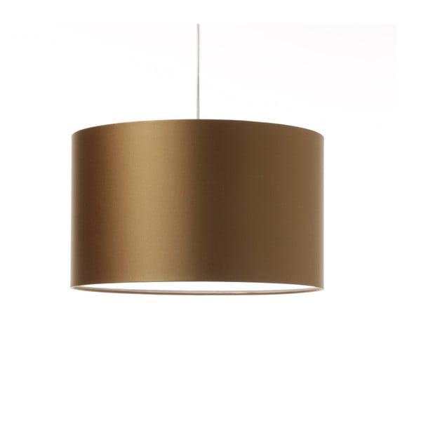 Zlaté stropné svetlo 4room Artist, variabilná dĺžka, Ø 42 cm