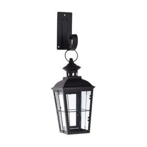 Nástenný lampáš Romantic Black