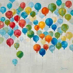 Obraz s motívom balónikov Dino Bianchi, 80 x 80 cm
