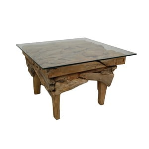 Konferenčný stolík z teakového dreva HSM Collection Cee