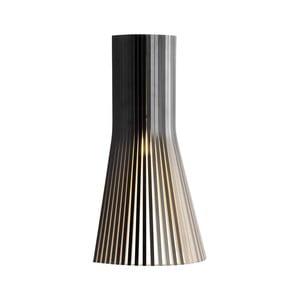 Nástenné svietidlo Secto 4231 Black, 45 cm