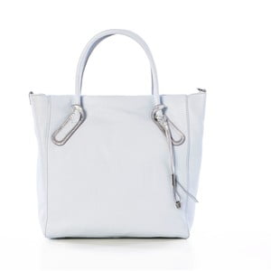 Biela kožená kabelka Gianni Conti Alecto