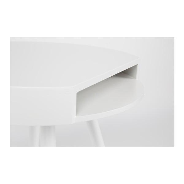 Biely odkladací stolík Zuiver Hide & Seek