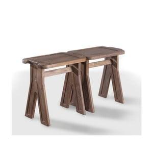 Stolička z orechového dreva Wewood - Portugues Joinery Multibanqueta