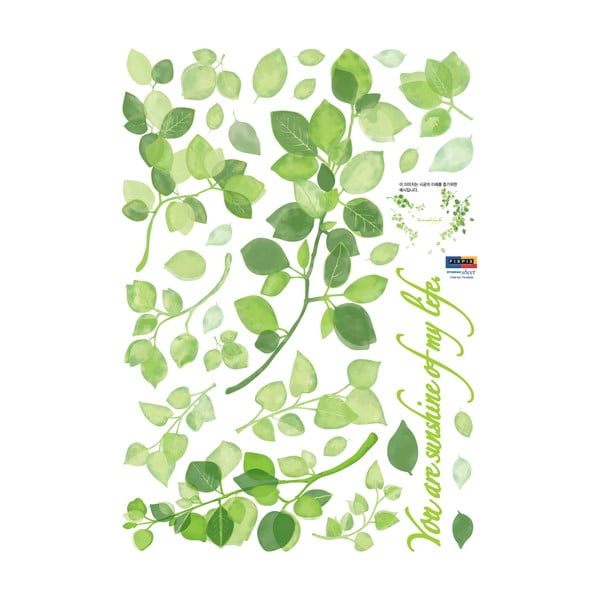 Samolepka Ambiance Green Ivy