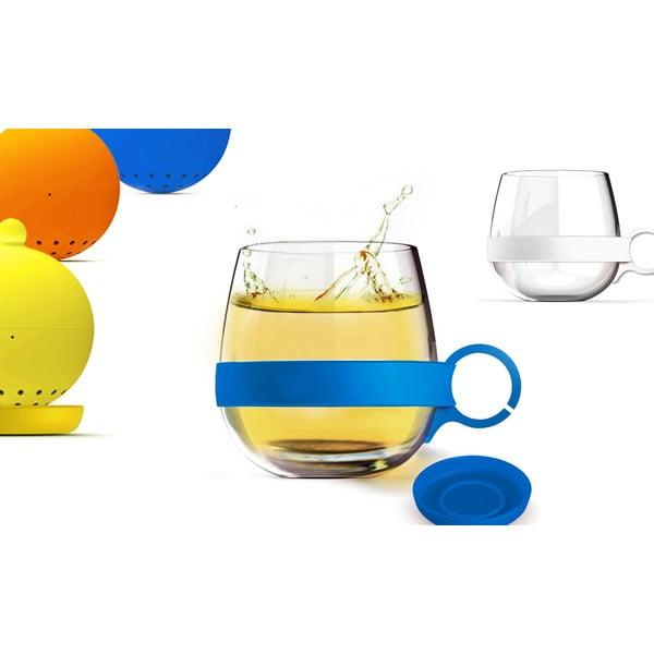 Hrnček Tea Ball, modrý