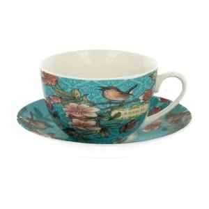 Porcelánový hrnček s tanierikom Duo Gift Venezia, 240 ml