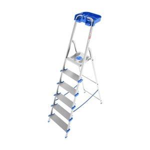 Hliníkový skladací rebrík so 6 schodíkmi Colombo New Scal Atlantica
