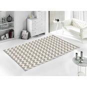Sivý koberec Home De Bleu Zig Zag, 80 x 150 cm