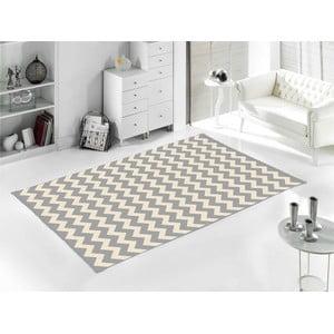 Sivý koberec Home De Bleu Zig Zag, 120 x 180 cm