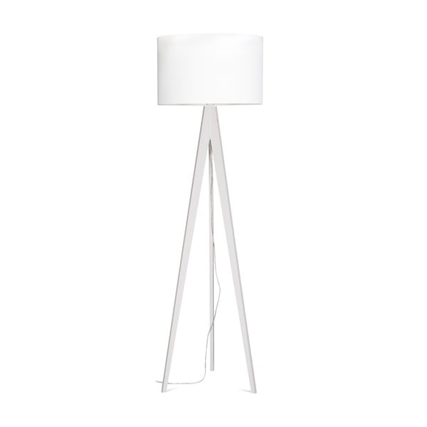 Stojacia lampa Artist White/White, 150x42 cm