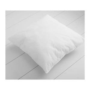 Biely vankúš s prímesou bavlny Minimalist Cushion Covers, 45 × 45 cm