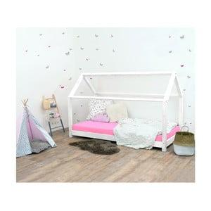 Biela detská posteľ zo smrekového dreva Benlemi Tery, 80×200 cm