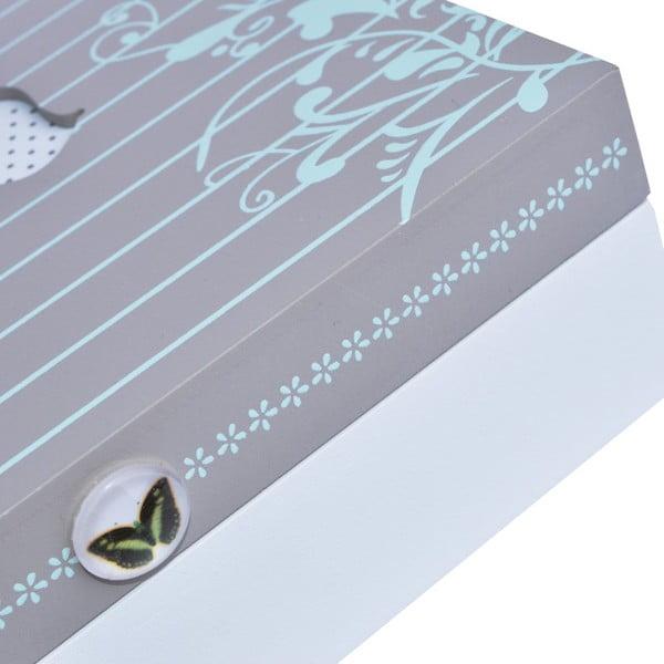 Drevený box Butterfly